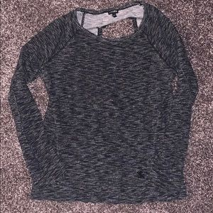 Open Back Express Sweatshirt